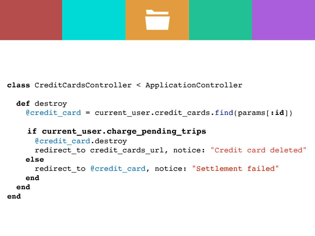 class CreditCardsController < ApplicationContro...