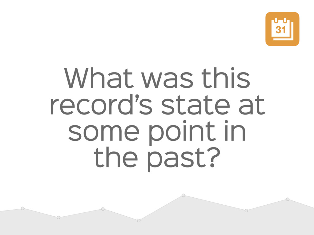 What was this record's state at some point in t...