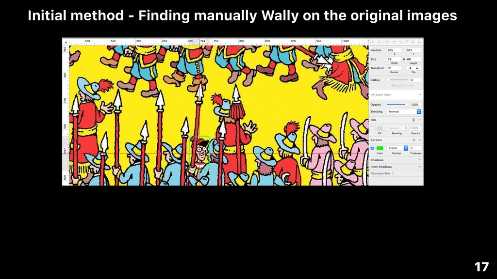 17 Initial method - Finding manually Wally on t...