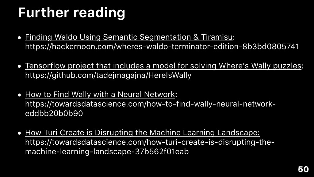 Further reading • Finding Waldo Using Semantic ...