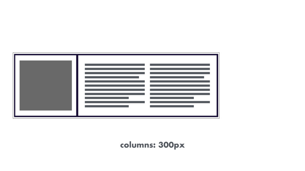 columns: 300px