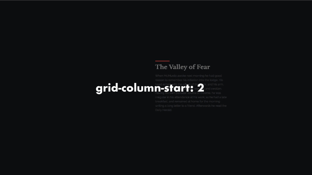 grid-column-start: 2
