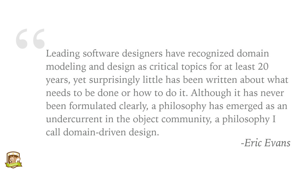 """Leading software designers have recognized dom..."