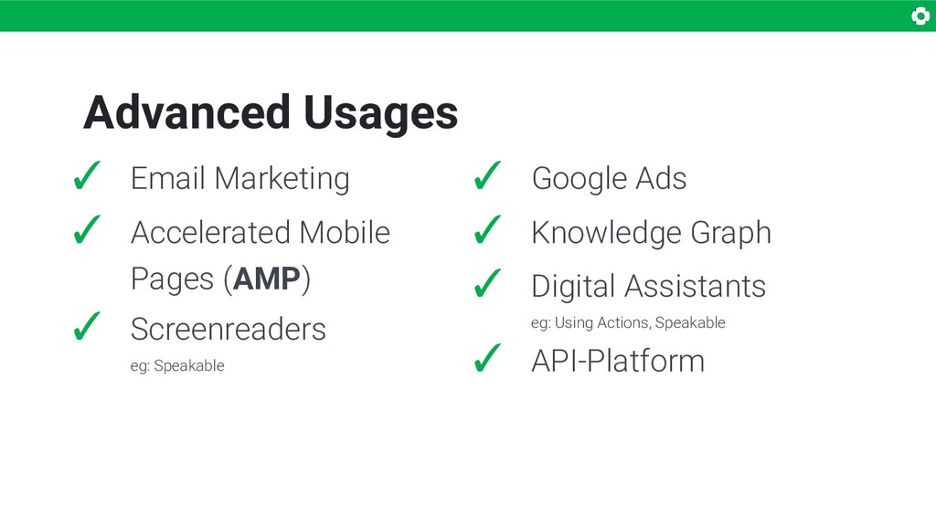 Advanced Usages ✓ Email Marketing ✓ Accelerated...