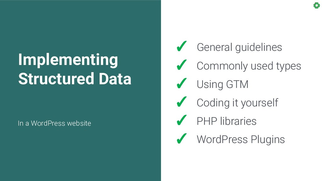 Implementing Structured Data In a WordPress web...