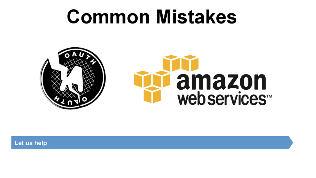 Common Mistakes Let us help