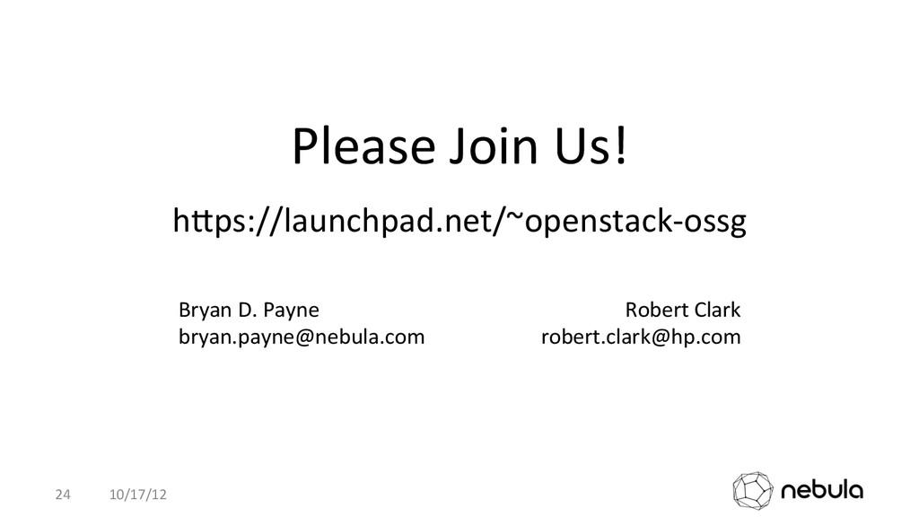 hhps://launchpad.net/~openstack-‐ossg  10/1...