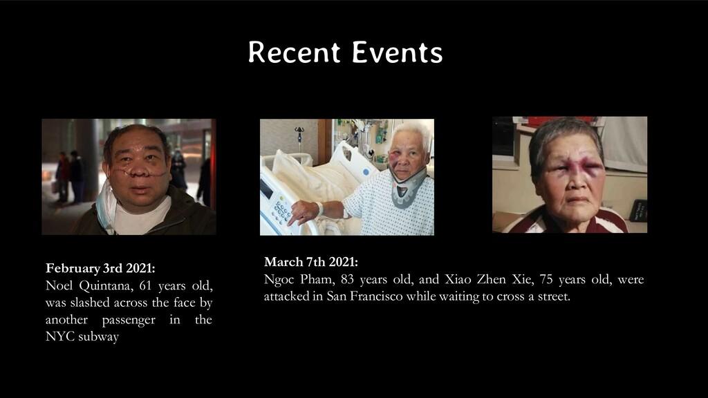 Recent Events February 3rd 2021: Noel Quintana,...