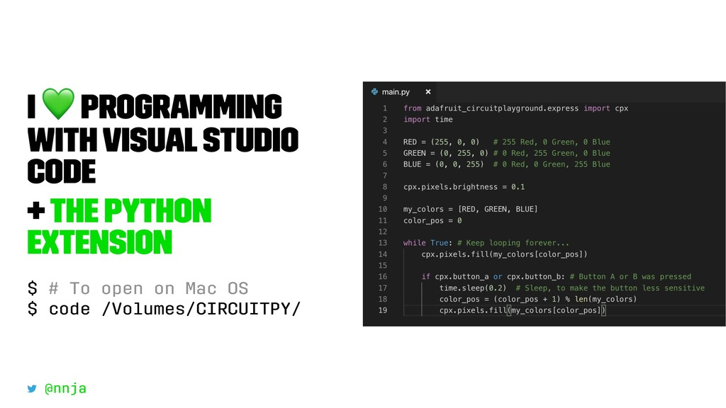 I ! Programming with Visual Studio Code + The P...