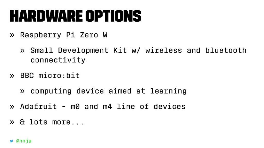 Hardware Options » Raspberry Pi Zero W » Small ...
