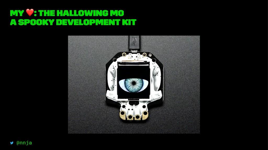 my ❤ : The HalloWing m0 a spooky development ki...