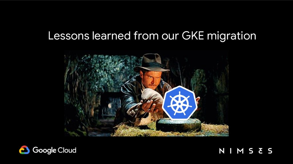 Lessons learned from our GKE migration