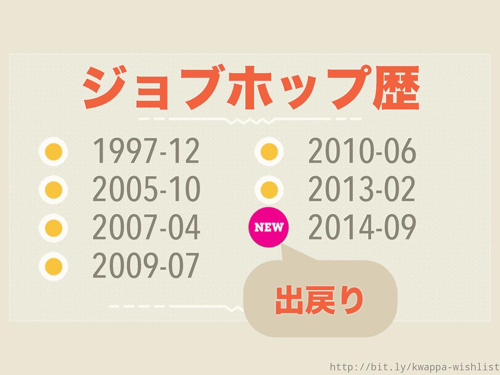 δϣϒϗοϓྺ 1997-12 2005-10 2007-04 2009-07 2010-06...