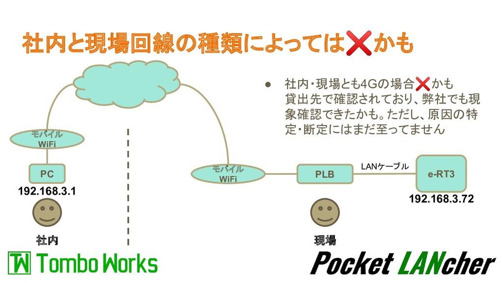 社内と現場回線の種類によっては❌かも 社内 現場 PLB e-RT3 LANケーブル PC モ...