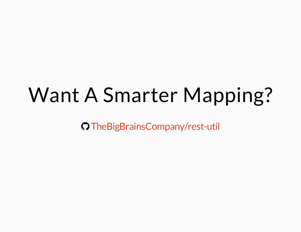 Want A Smarter Mapping? ® TheBigBrainsCompany/r...