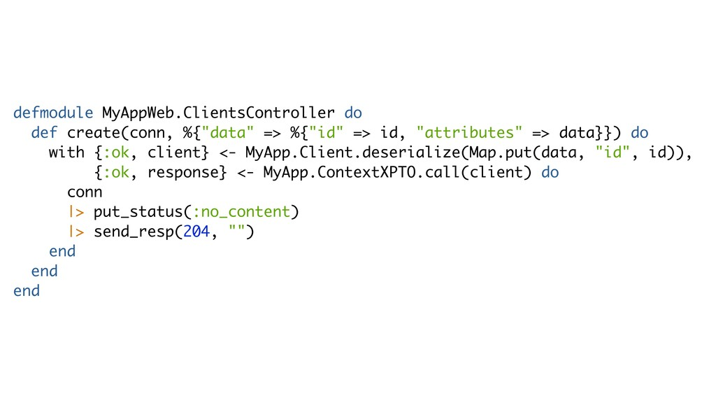 defmodule MyAppWeb.ClientsController do def cre...