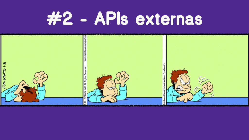 #2 - APIs externas