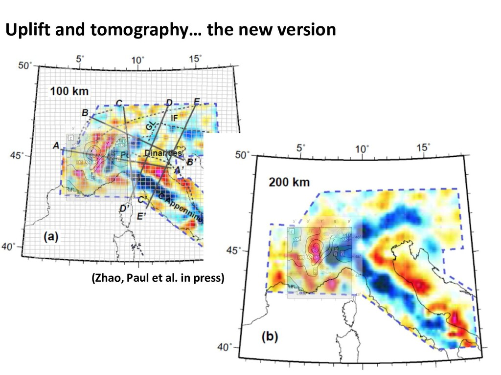 Uplift and tomography… the new version (Zhao, P...