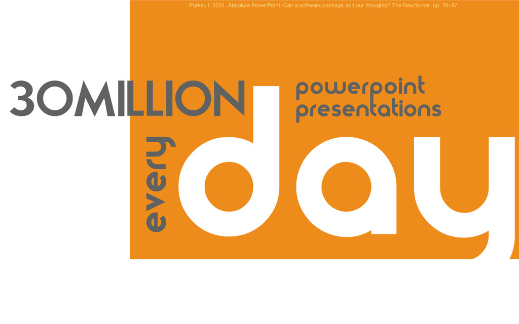 day Parker, I. 2001. Absolute PowerPoint: Can a...