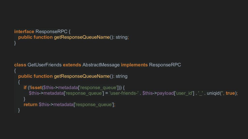interface ResponseRPC { public function getResp...