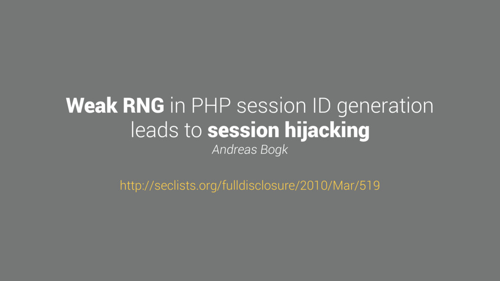 Weak RNG in PHP session ID generation leads to ...