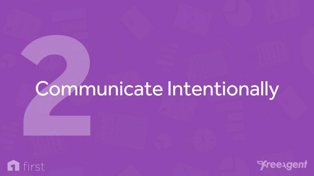 Communicate Intentionally 2