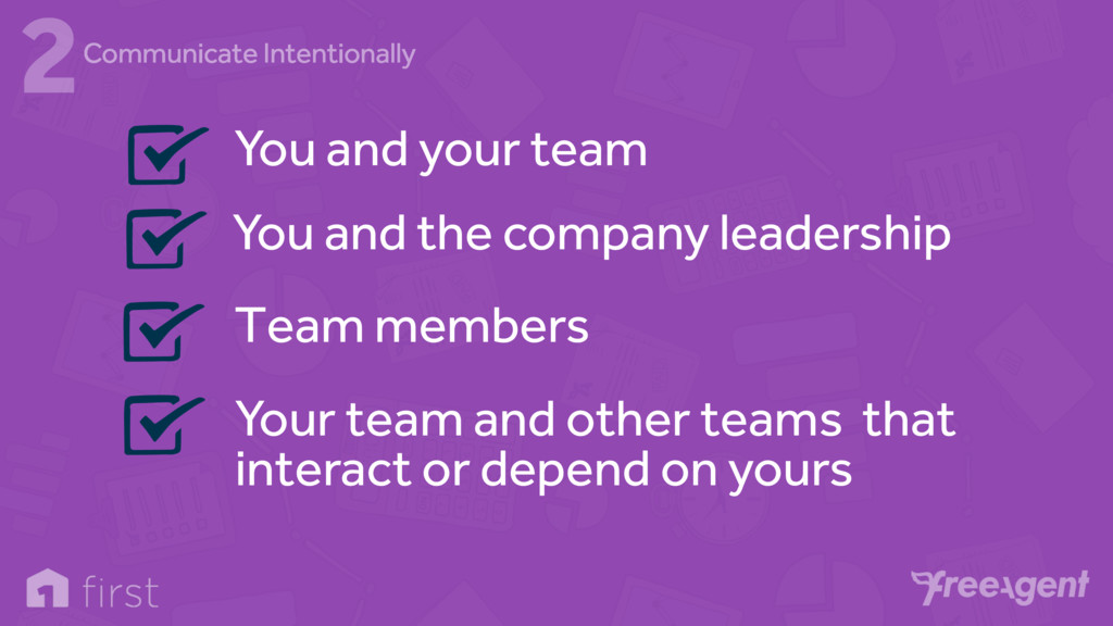 You and your team You and the company leadershi...