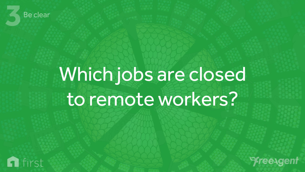Which jobs are closed