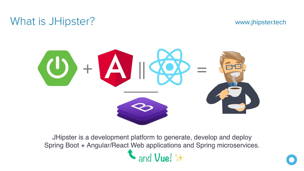 What is JHipster? JHipster is a development pla...