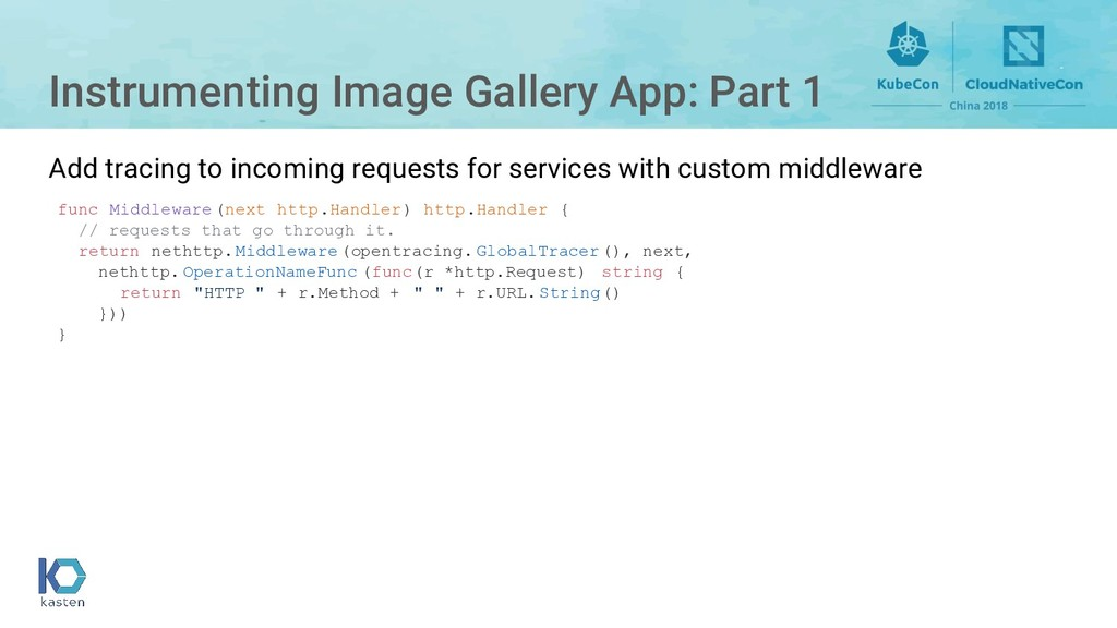 Instrumenting Image Gallery App: Part 1 Add tra...