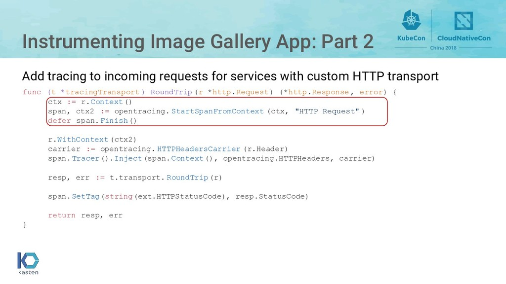 Instrumenting Image Gallery App: Part 2 func (t...