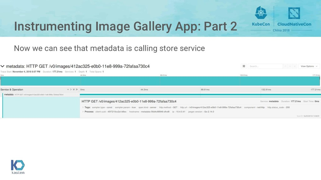 Instrumenting Image Gallery App: Part 2 Now we ...