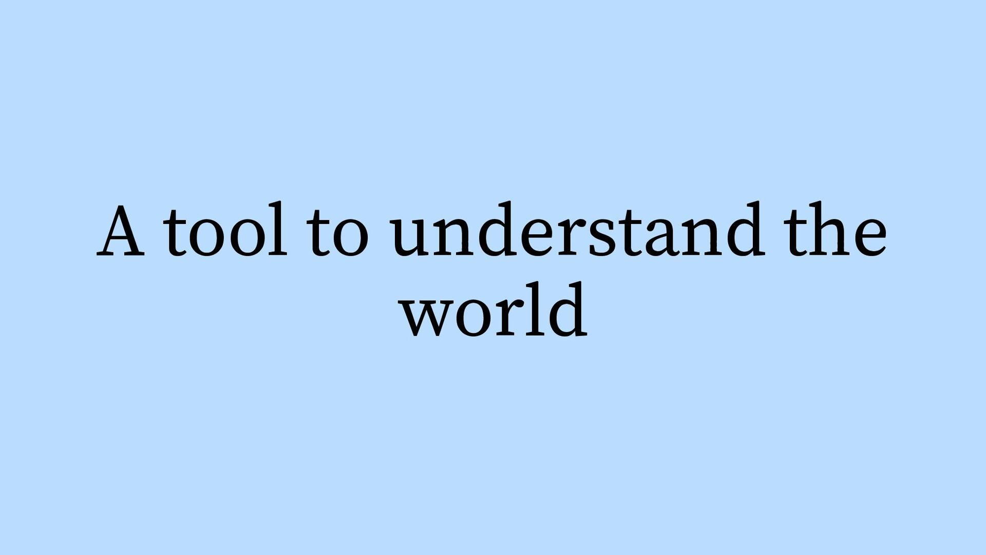 1) How should it be? 2) How is it? 3) How to mo...