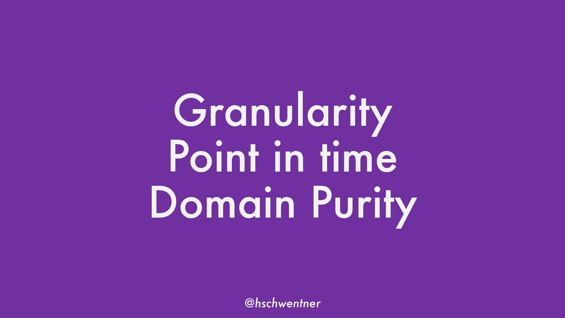 @hschwentner #dddesign