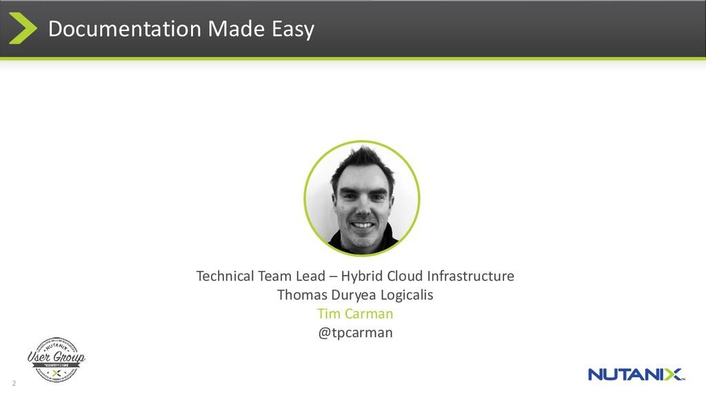 2 Technical Team Lead – Hybrid Cloud Infrastruc...
