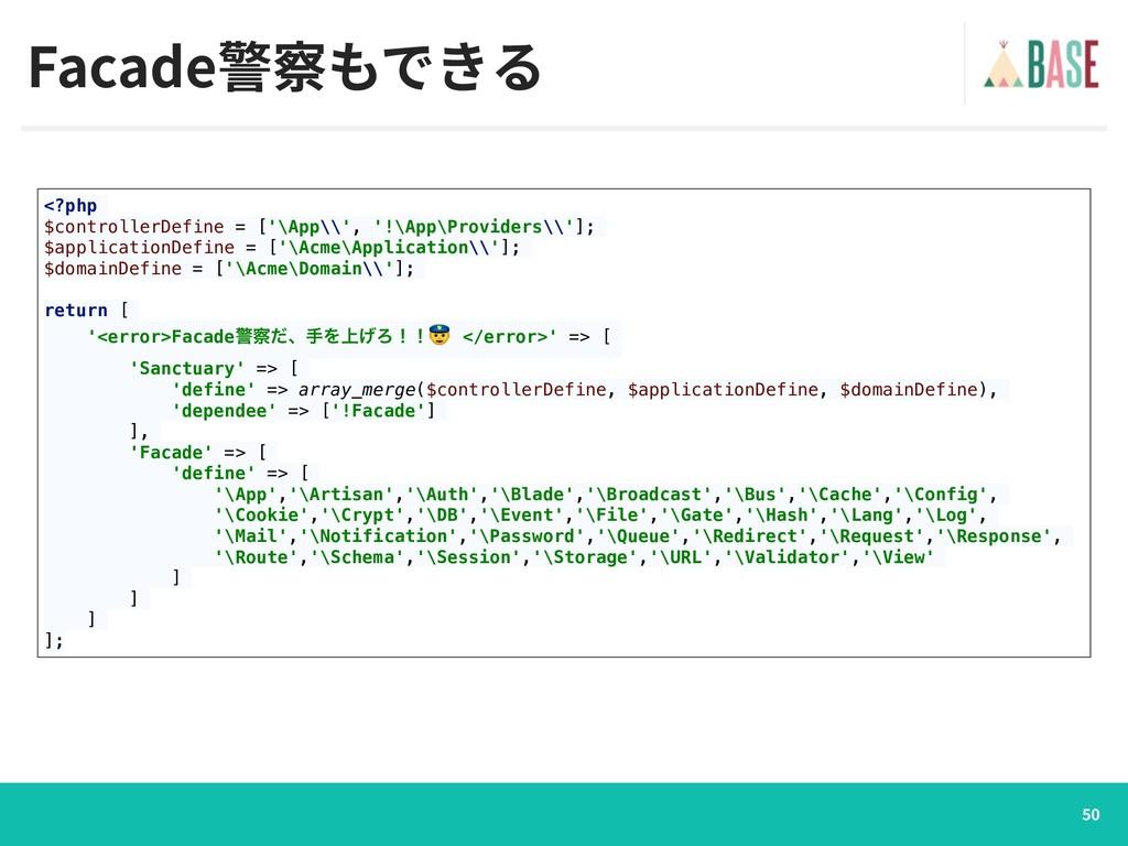 <?php $controllerDefine = ['\App\\', '!\App\Pro...