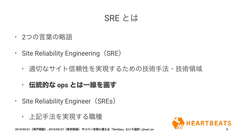 SRE ͱ͸ • 2ͭͷݴ༿ͷུޠ • Site Reliability Engineerin...
