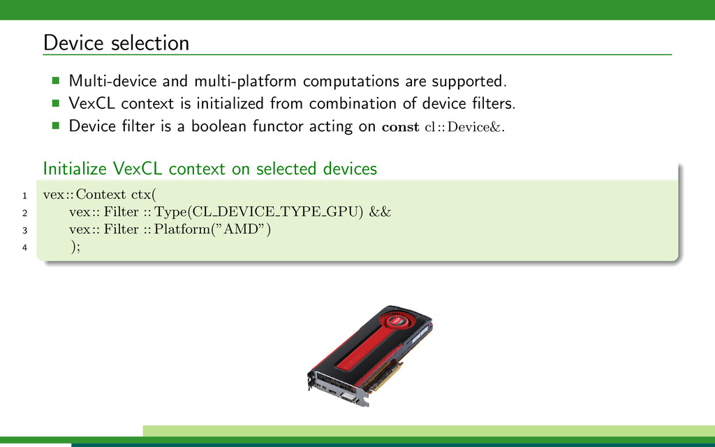Device selection Multi-device and multi-platfor...
