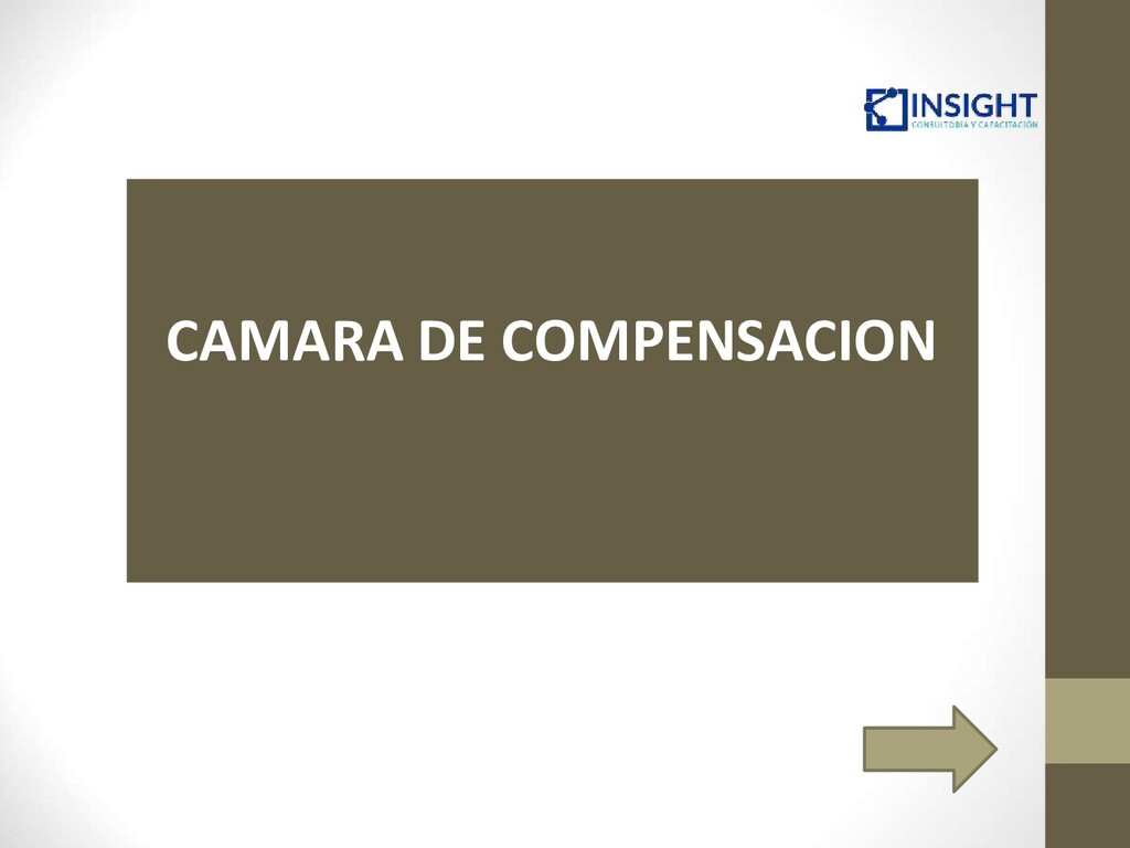 CAMARA DE COMPENSACION