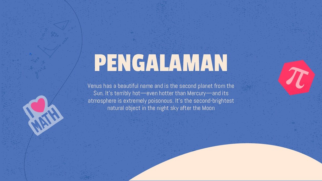 Venus has a beautiful name and is the second pl...