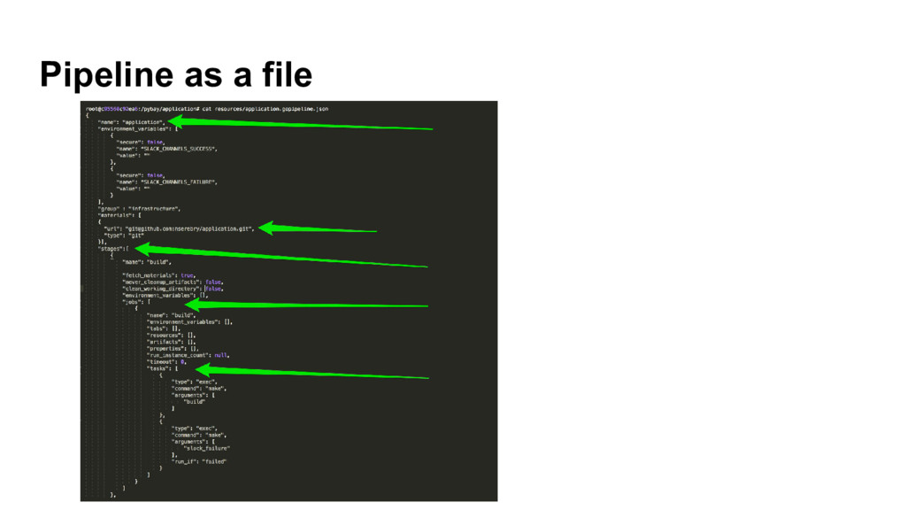 Pipeline as a file