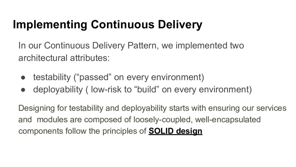 Implementing Continuous Delivery In our Continu...