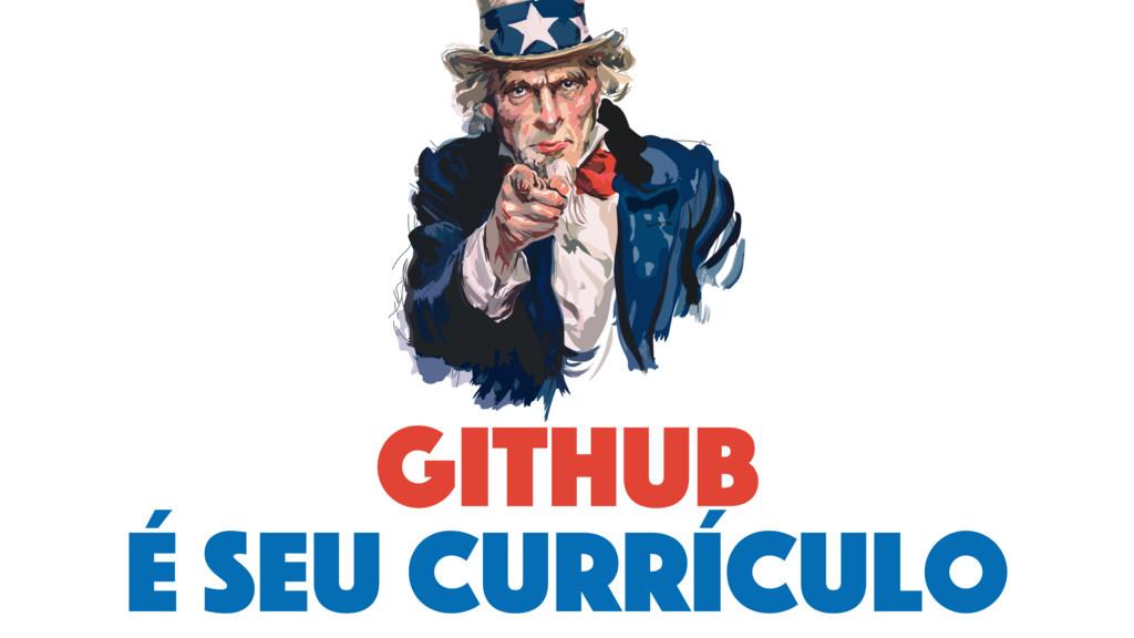 github é seu currículo