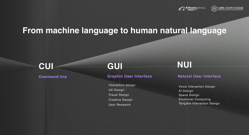 From machine language to human natural language...