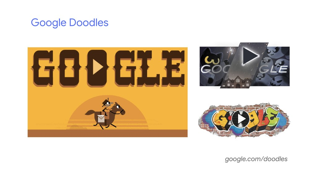 Google Doodles google.com/doodles
