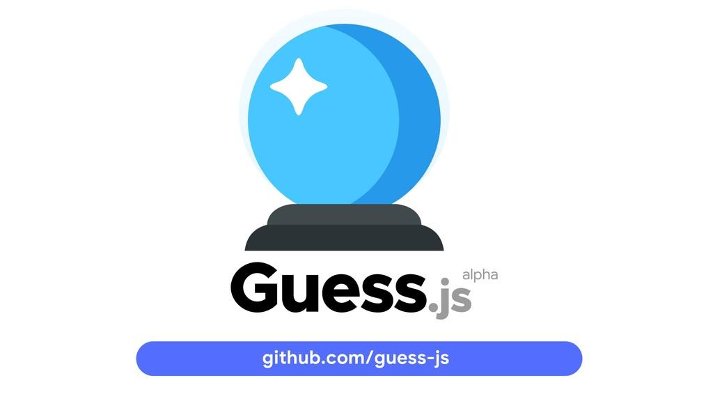 alpha github.com/guess-js