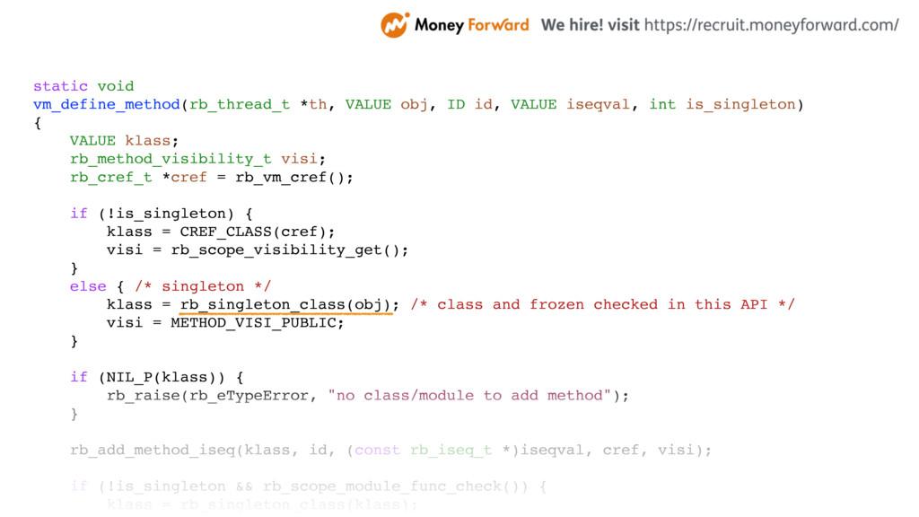 static void vm_define_method(rb_thread_t *th, V...