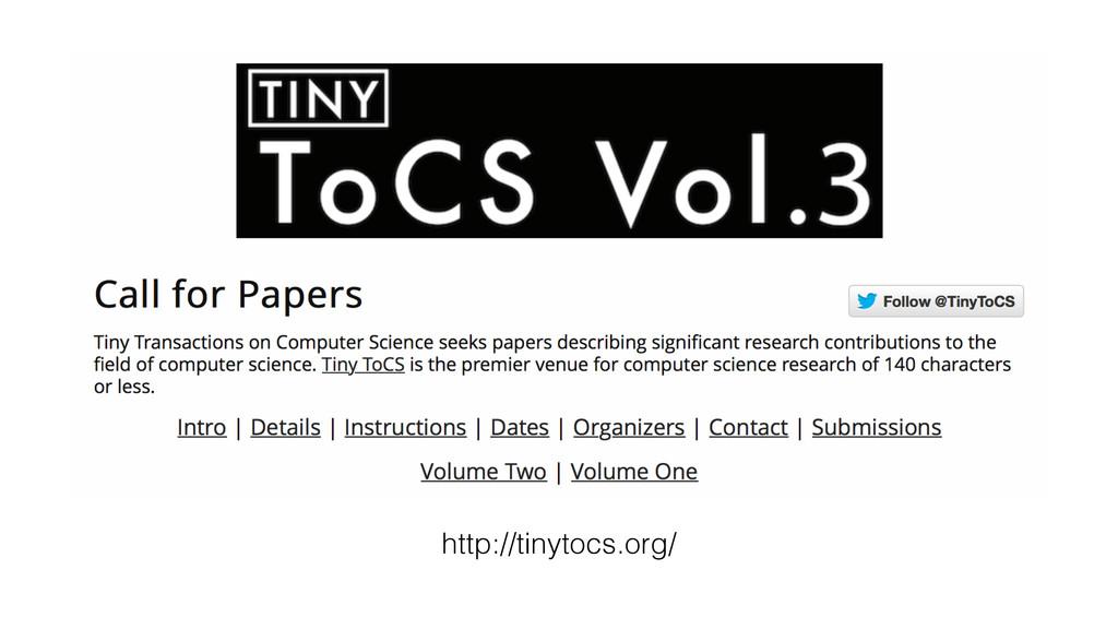 http://tinytocs.org/