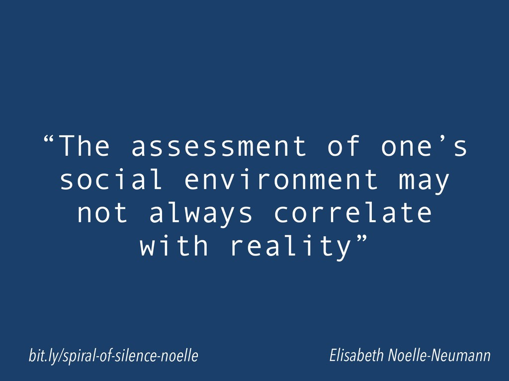 """The assessment of one's social environment may..."