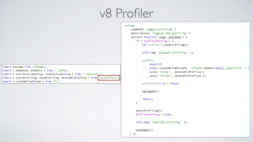 v8 Profiler